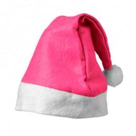 Gorros Navidad Rosa Fuerte