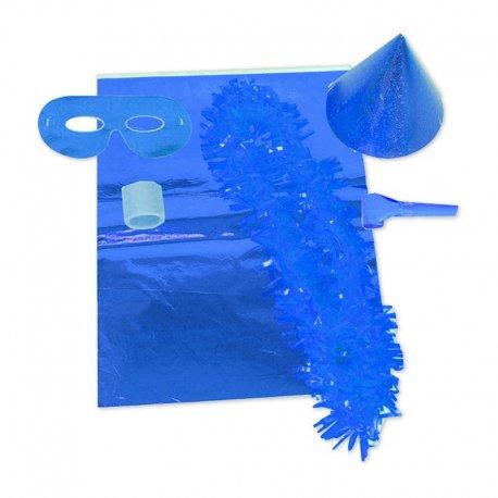 Akcesoria Sylwestrowe Niebieskie